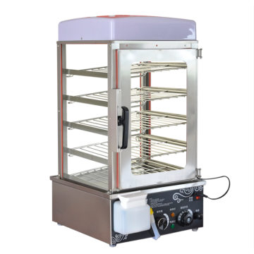 Food holding cabinets for convenience stores