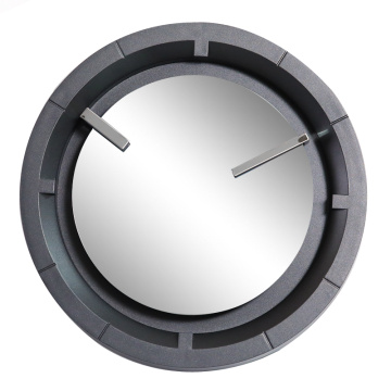 12 Inch Wall Clock with MIrror Face