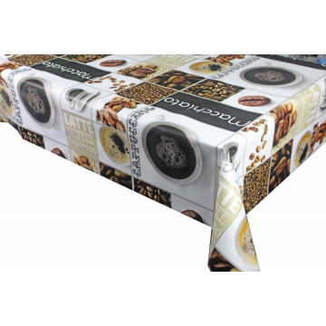 Pvc Printed fitted table covers Round uk