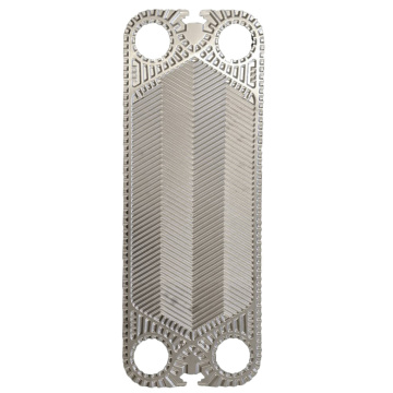 V28 counterflow 0.6mm ss316l heat exchanger plate