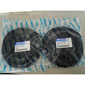 207-25-61160 seal Komatsu PC300-8 swing circle parts