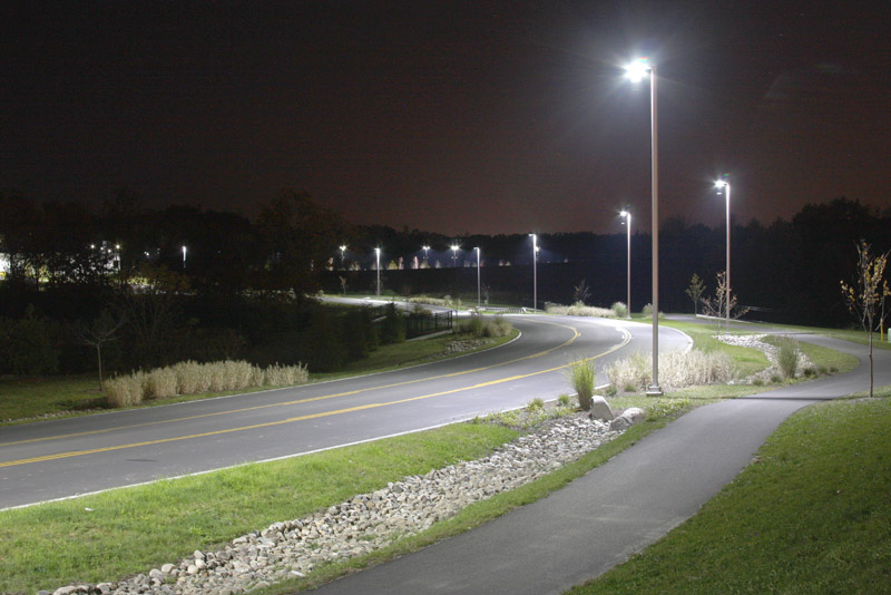 Solar Parking Lot Light