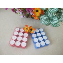 Wholesale Red and Blue Cup Tealight Candle