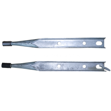Standard Pole Line Hardware Galvanized Pole Top Pin