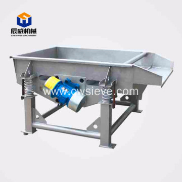 industrial linear vibrating screen for plastic
