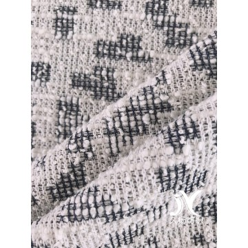Cotton Slub Sweater Jacquard Knit