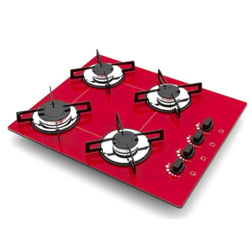 Red Professional Gas Cookers
