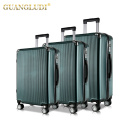 Lightweight zip travel trolley luggage bag