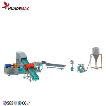 PE film pelletizing line/squeezing pelletizing machine