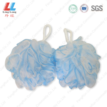 Eco-friendly foam mesh bath sponge