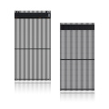 Wind-proof and wind-resistant LED Grille screen