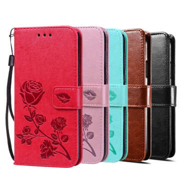 Cases for Huawei Y5 II Y5II / Honor 5A LYO-L21 Cover Case Luxury Vintage Magnetic Flip Leather Phone Bags