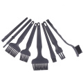 8pcs / set of PCB cleaning tool repair antistatic brush electronic component cleaning tool gap cleaning brush