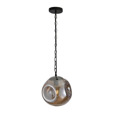 Glass Pendant Lamp with Metal Lamp holder