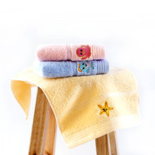 marine animals embroidery towel