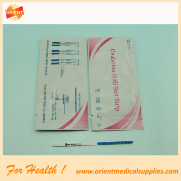 LH ovulation test strips cassette midstream