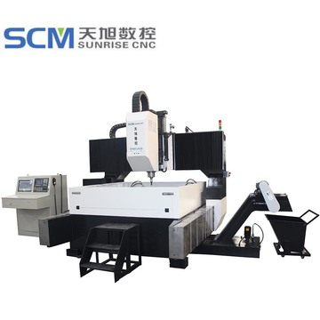 Metal Steel Hole Making CNC Drill Machine