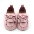 New Design Colorful Baby Leather Moccasin