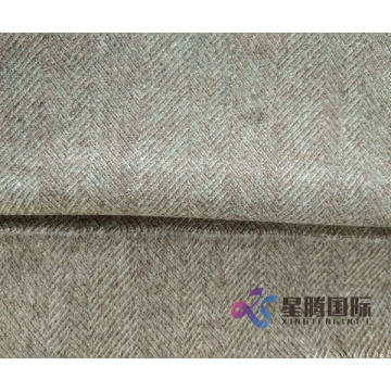 Herringbone Single Face Wool Fabric For Garment