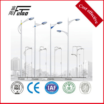 3-12 meters Galvanized Steel Street Lamp Pole