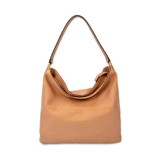 Fashion Soft Classic Leather Woman Hobo Shoulder Bag