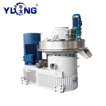 YULONG XGJ850 3-4T/h Pellet Machine From Wood sawdust
