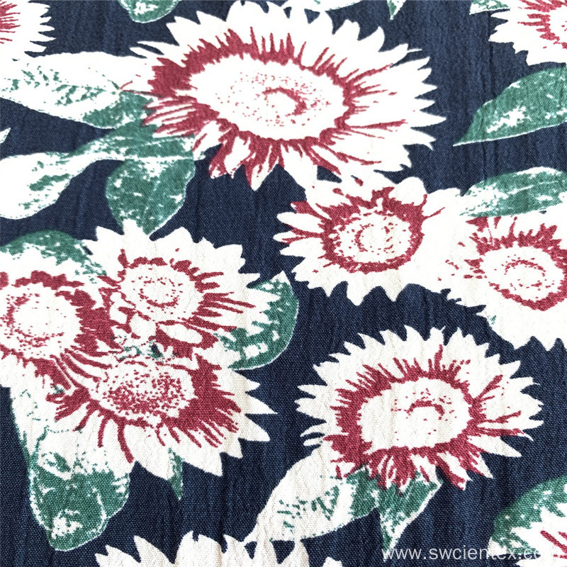 High Quality Fuli Crepe Print Fabric