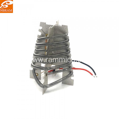Mica hot air heating element