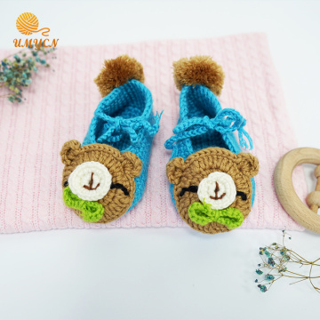 Hot Sale Handmade Baby Shoes Crochet Pattern
