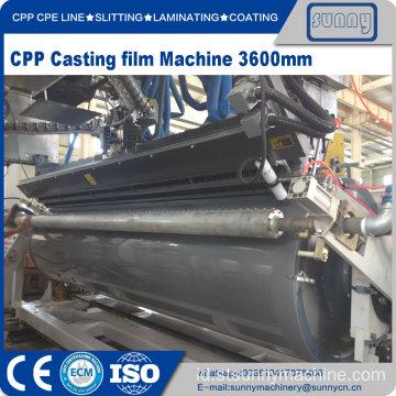 CPP CPE Multilayer Co-ekstrusi film Cast Jalur