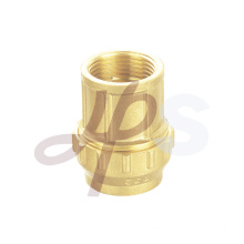Brass PE PPR compression straight male fitting