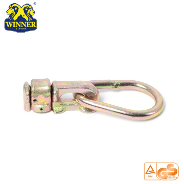 Best Selling Yellow Galavanized Double Stud Fitting With Oval Ring