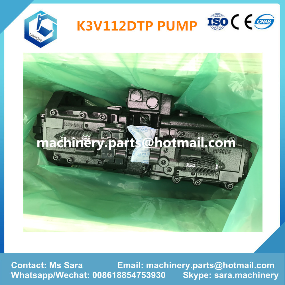 K3V112DTP main pump for kawasaki