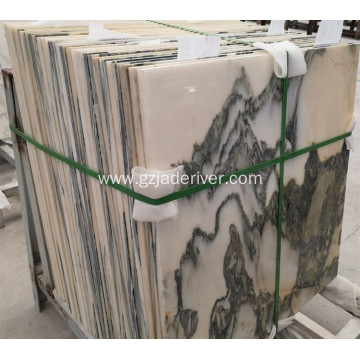 White Floor Marble Tile for Hall Design