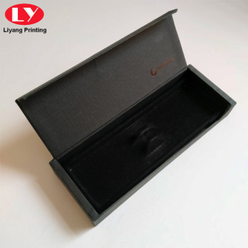 Luxury Black Empty Paper Box Custom Pen Boxes