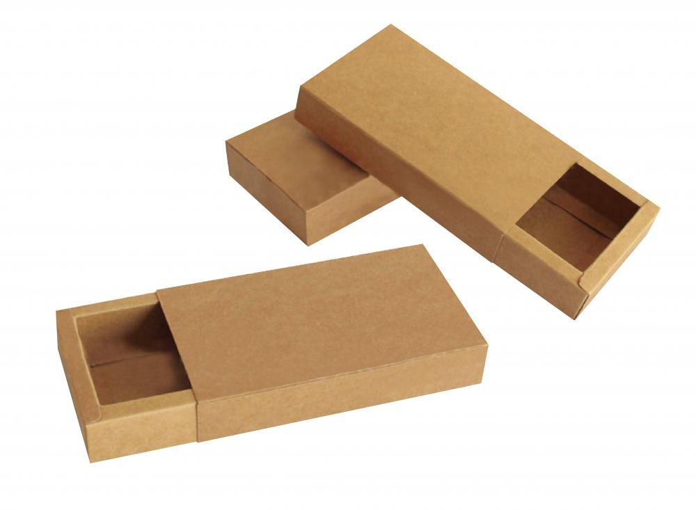 Men Ties Cardboard Gift Box With Drawer