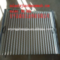 Replacement Corrugated shaker screen for Derrick FLC500 series shaker