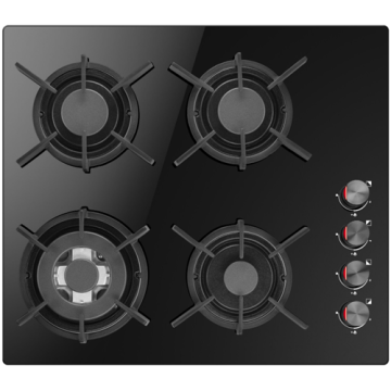Amica Built-in Gas Hobs 4 Rings