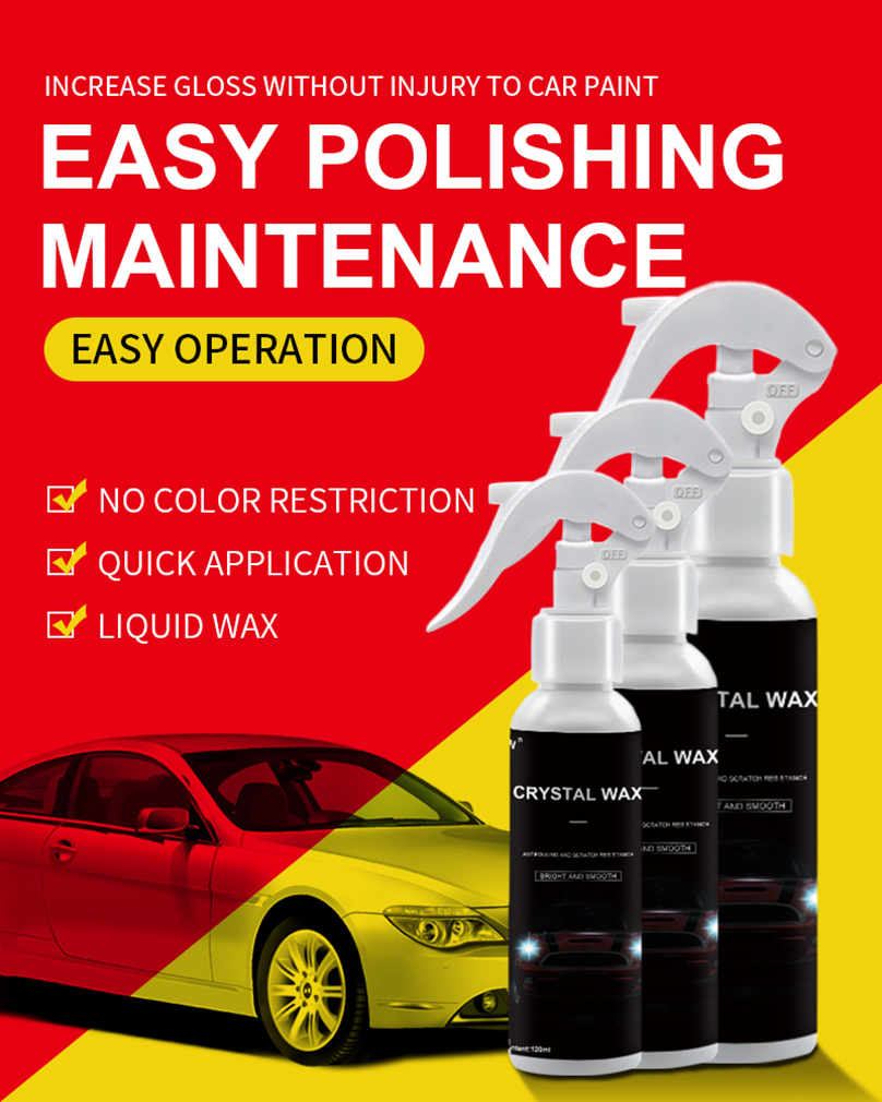 Car Liquid Spray Crystal Wax Plating