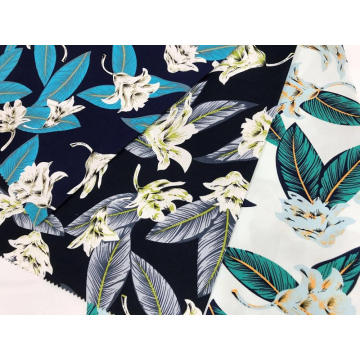 Cotton Stretch Printing Fabric For Shirt And Dress