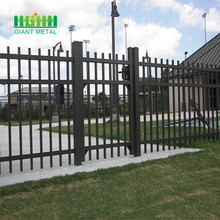 Galvanized steel fence weight