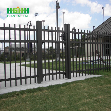 Stainless steel fence panels