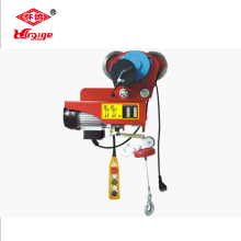 PA mini electric wire rope hoist 1000kg