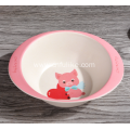 Animal Cartoons Cute Plastic Binaural Bowl