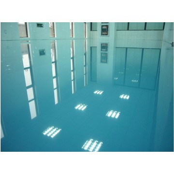 Waterproof epoxy floor coating