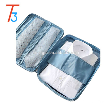 Multi-purpose hand-held folding Travel T-shirt tie packing storage organizer
