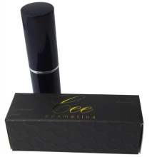 Black UV/Gold Stamping Lipstick Coated Paper Box