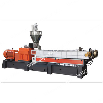 Degradable granules making machine twin screw extrusion line