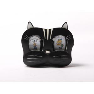 Lovely Kitty Cat's Head  Mode Flip Clock