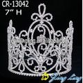 Cheap rhinestone custom pageant crowns hair accessories